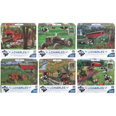 J. CHARLES COLLECTION 27X20 PUZZLE - 1000 PCS