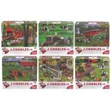J CHARLES COLLECTION PUZZLE 24X18 - 550 PCS