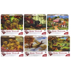 LINDA PICKEN COLLECTION PUZZLE 24X18 - 550 PCS