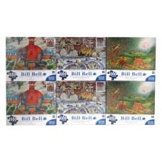 1000 PCS PUZZLES BILL BELL 27X20 PK6