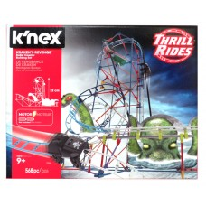 KRAKEN'S REVENGE ROLLER COASTER BUILDING SET - 568 pc