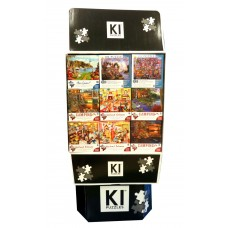 1000 & 550 pcs Asst Puzzle- 36 units in one Display