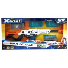 X-SHOT - Max Attack - 3 Clips ,96 Darts