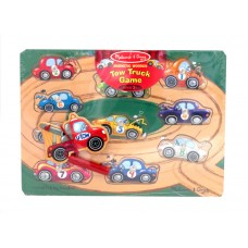 Magnetic Wooden Tow Truck Game