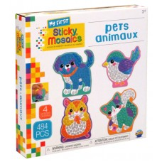 My First Sticky Mosaics Pets