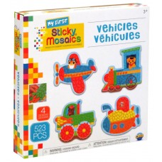 My First Sticky Mosaics Vehicles