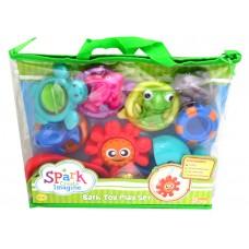 Spark - Bath Toy playset - 19 pcs