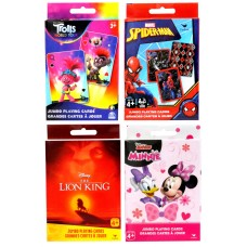 Licensed Jumbo Card Asst Lion King, Minnie Mouse, Spiderman and Trolls 2