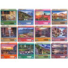 Landscape Puzzle Asst - 1000 pcs