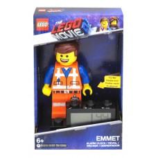 LEGO MOVIE 2 EMMET MINIFIGURE CLOCK
