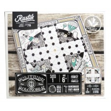 RUSTIK - CLASSIC GAMES -SOLITAIRE MADE OF WOOD