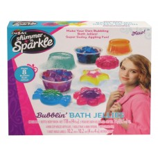 Shimmer 'n Sparkle Scented Bubblin' Bath Jellies