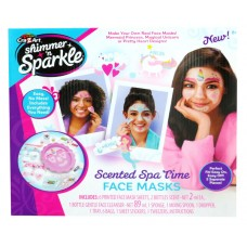 Shimmer 'n Sparkle Make Your Own Spa Time Face Mask