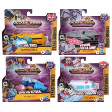 TRANSFORMERS CYBERVERSE ADVENTURES 1 STEP CHANGER ASST