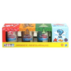 PLAY-DOH HOLIDAY MYSTERY SCENTED 4 PACK