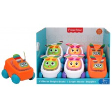 Fisher-Price Bright Beats Buggies Sound & Light Asst PDQ - French