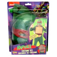 TMNT Raphael Costume on Blister- Fits Size 8-10