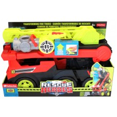 Rescue Heroes® Transforming Fire Truck