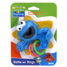 Sesame Street - Rattle w/rings
