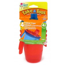 Tomy - The First Years sippy cup w/handle 4pcs