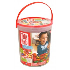 TUTTI FRUTTI - SCENTED MODELING DOUGH - LETTERS  AND NUMBERS BUCKET