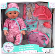"""Dream Collection Going To Grandma 12"""" Doll"""