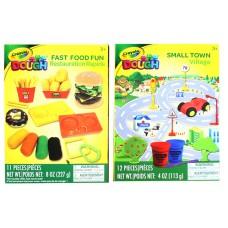 Crayola Fast Food Fun / Small Town 12 pcs Set -Asst