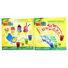 Crayola Ice Cream Party / Rainbow Animals 12 pcs Set -Asst