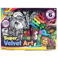 Super Velvet Art Coloring Kit