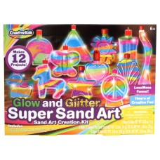 Glow & Glitter Super Sand Art Creation Kit