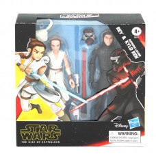 Star Wars The Rise of Skywalker Galaxy of Adventures Rey & Kylo Action Figures