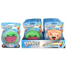 StikBalls - Sticky Food Fight Asst w/display