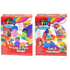 SofteeDough™ Asst Super hair shop & Super Play shop
