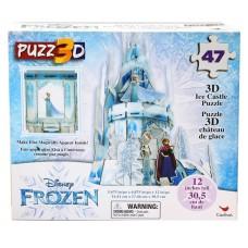 Frozen - 3D Ice Castle Puzzle 12'' tall w/47 pcs