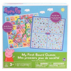 Peppa Pig My First Board Game 2 in 1 games