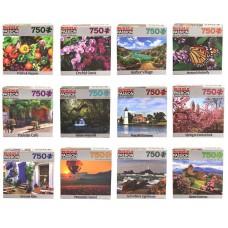 Landscape Puzzle Asst - 750 pcs