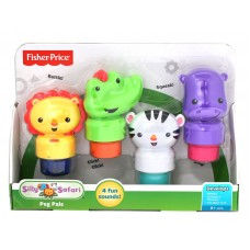 Silly Safari Peg Pals