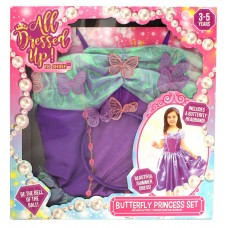 All Dressed Up! Butterfly Princess Set - Includes a Butterfly Headband