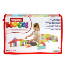 Velcro Blocks, 42 PC Set