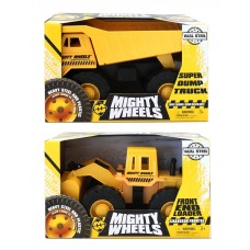 "Mighty Wheels 16"" Dump Truck / Front Loader"