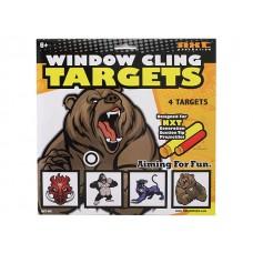 Window Cling Targets - Beast