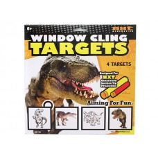 Window Cling Targets - Dino
