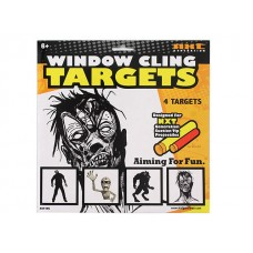 Window Cling Targets - Zombie