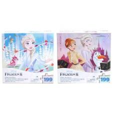 Disney Frozen 2 Foil Puzzle Asst w/199 Pcs