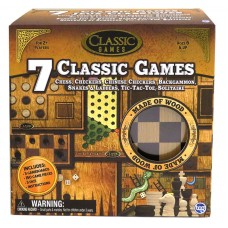 7 IN 1 CLASSIC WOOD GAMES