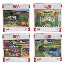 Puzzle, Americana 500 PC  Asst
