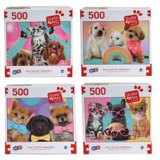 Studio Pets - Deluxe Artistic 500 pcs Puzzle Collection