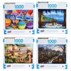 Puzzle, Romantic Holiday 1000 PC Asst