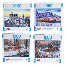 Winter Wonderland - Deluxe Artistic 1000 pcs Puzzle Collection