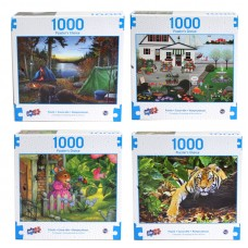 Deluxe Artistic 1000 pcs Puzzle - Puzzlers Choice